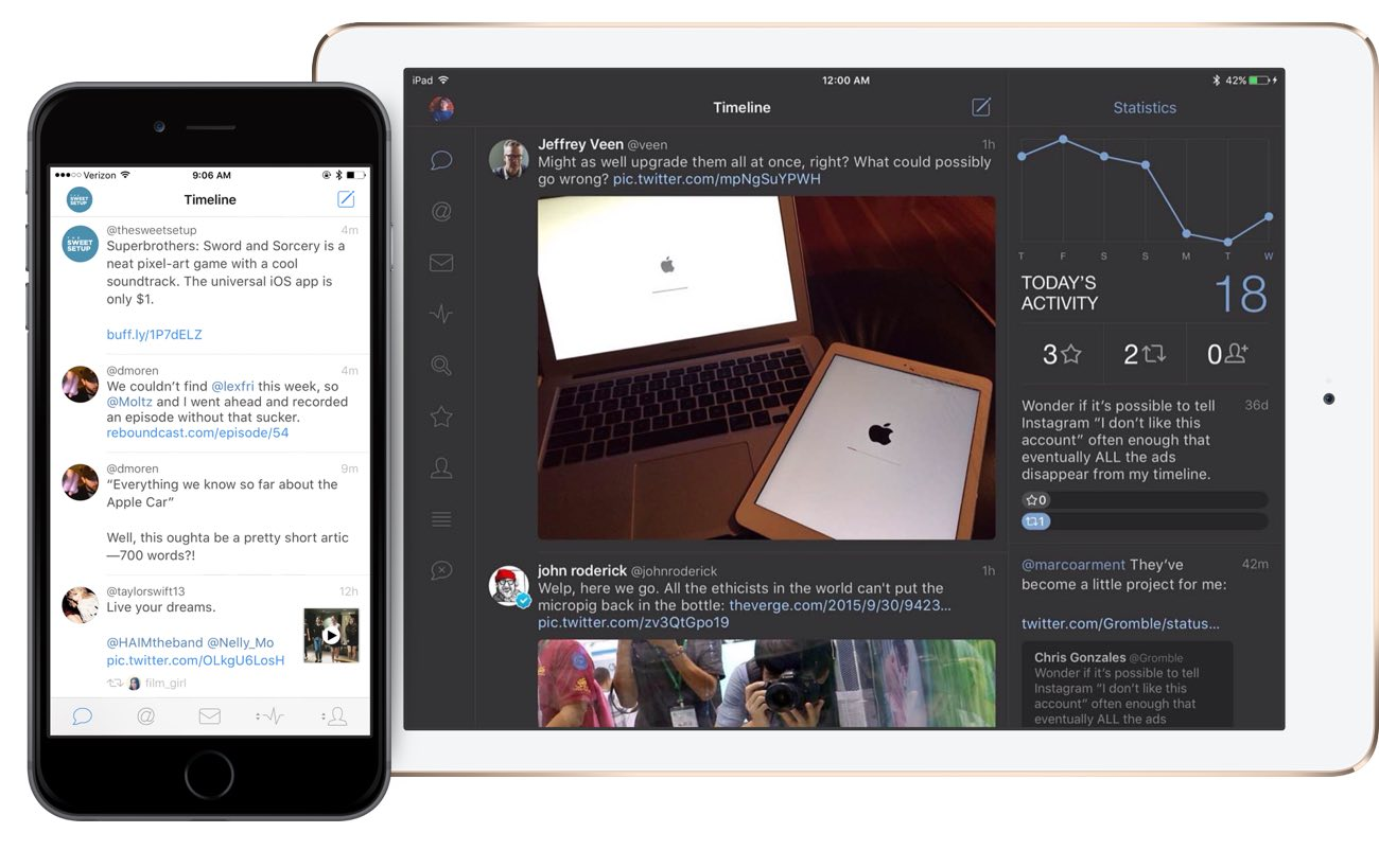 Tweetbot is available for zagruzki 4 comments