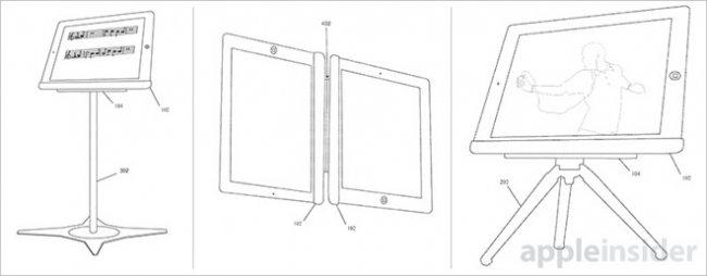 Apple patents multi-function docking station for iPadКомментариев no