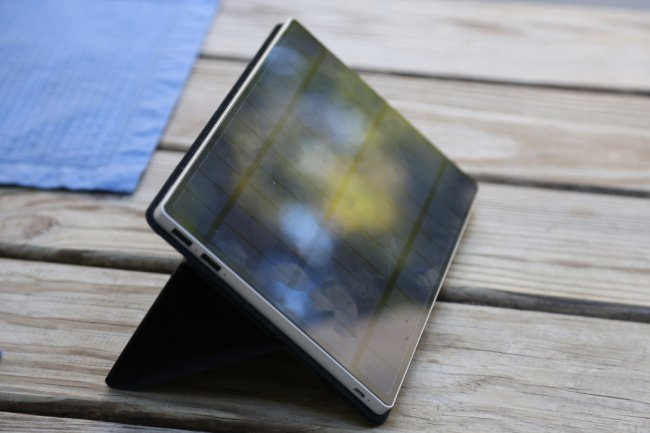 SolarTab: the compact solar battery, which is really rabotaet review