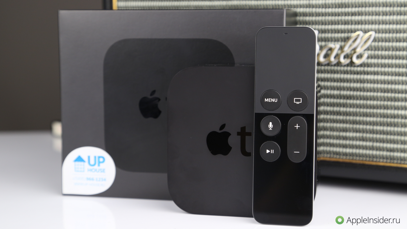 Apple TV 4: first look and unboxing
