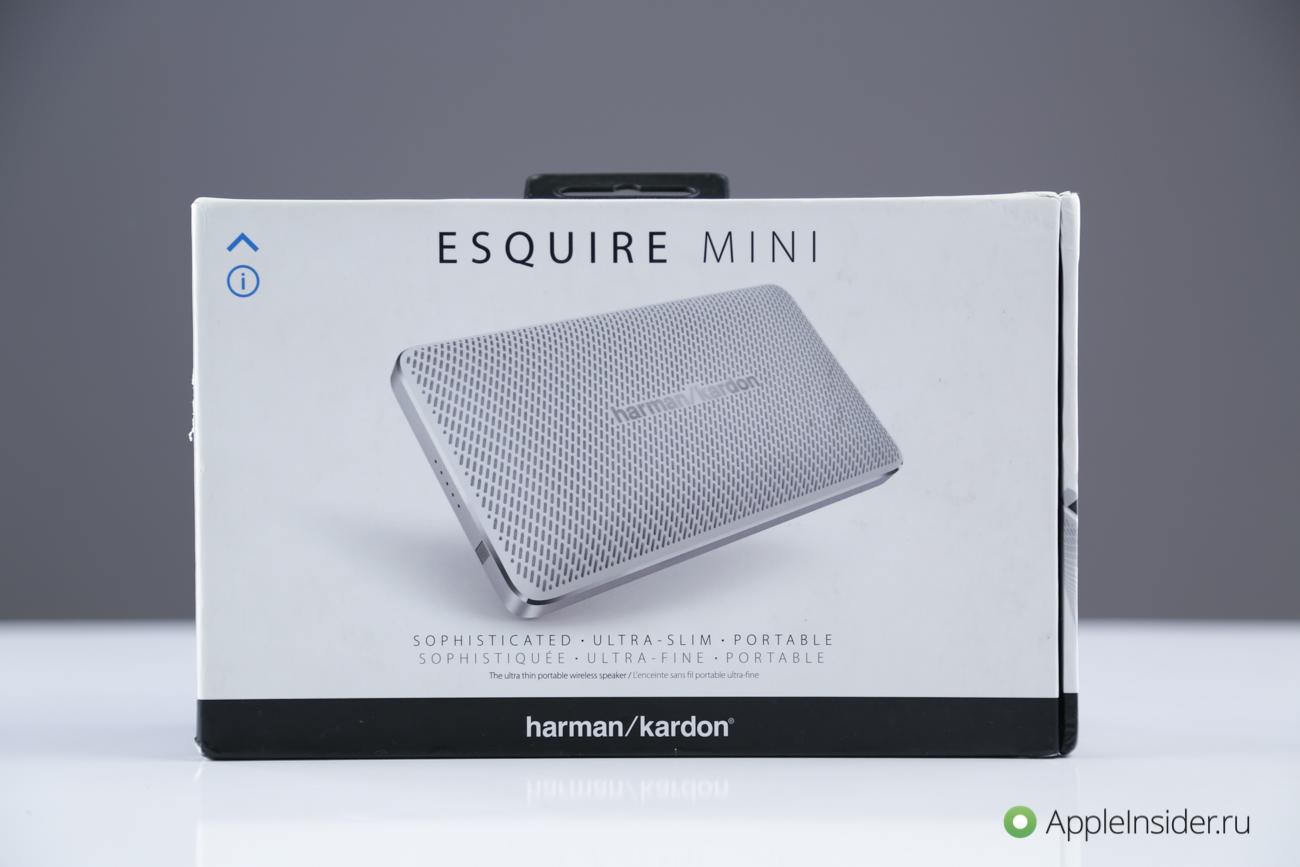 "Harman/Kardon Esquire Mini: when ""mini"" is only nazvanie review"