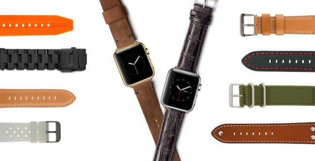 Apple gave the green light to the manufacturers straps for the Apple Watch26 review