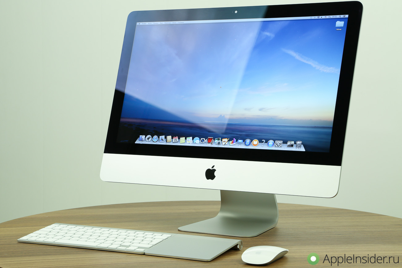 Review 21.5-inch iMac 2014 review God