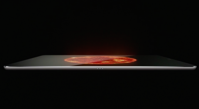 Apple introduced the iPad Pro, the larger tablet companii review