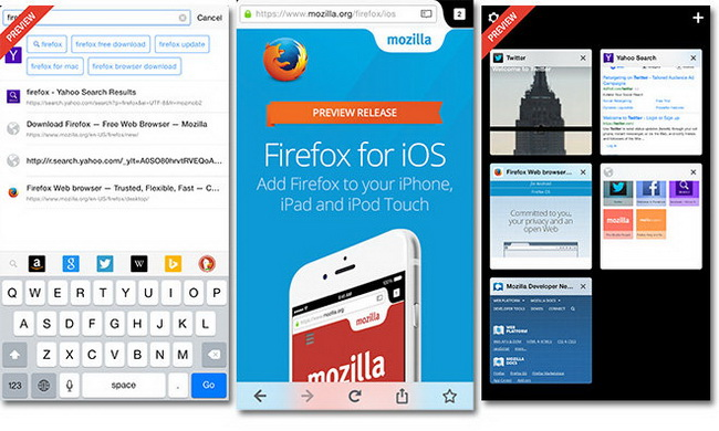 Firefox comes in iOS36 review