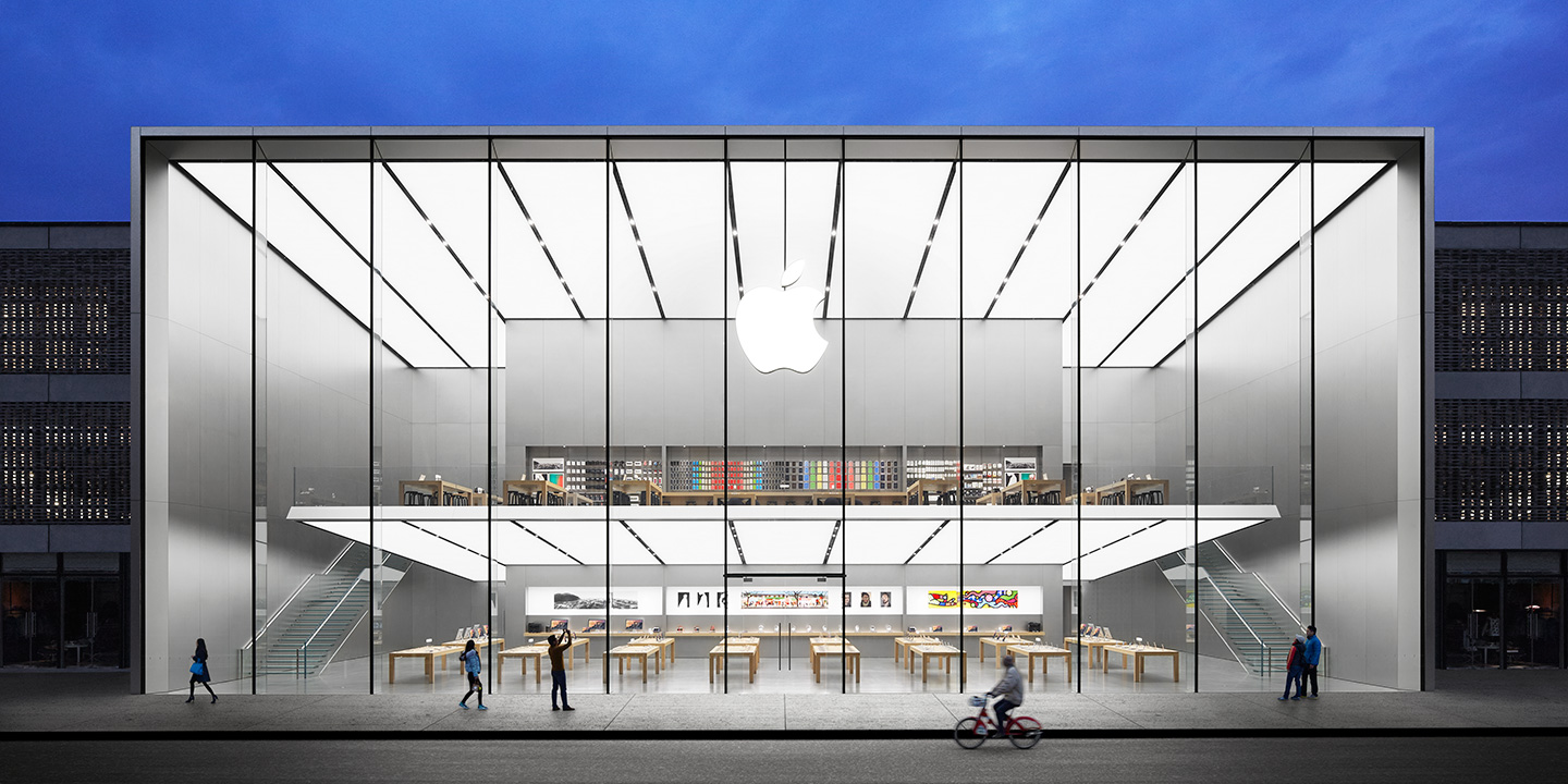 Apple opened its main retail MAGAZIN review