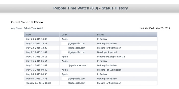 Manufacturers of Pebble are asked to support them in the fight against Apple39 review
