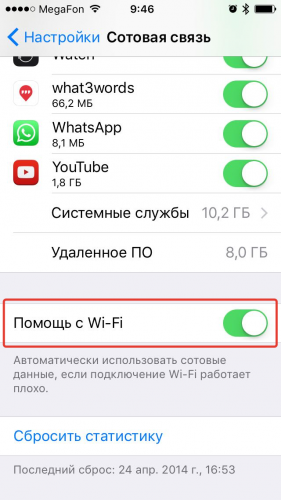 "How to use ""Help with Wi-Fi"" on iOS 944 review"