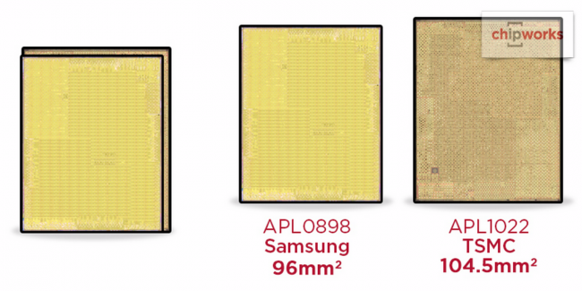 Some of the A9 chip in iPhone 6s less drugih review