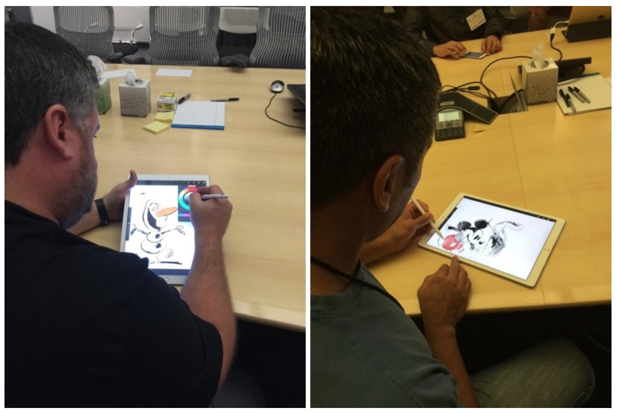Disney found a use for the iPad Pro32 comment