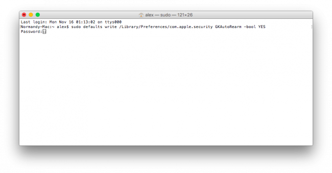 [OS X] Disable the Gatekeeper function