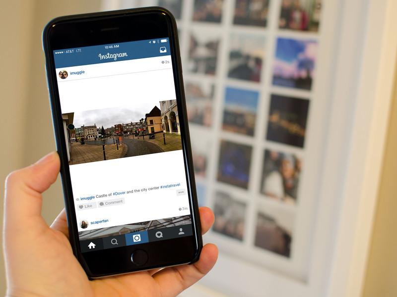 Passwords iPhone users in Instagram is under threat