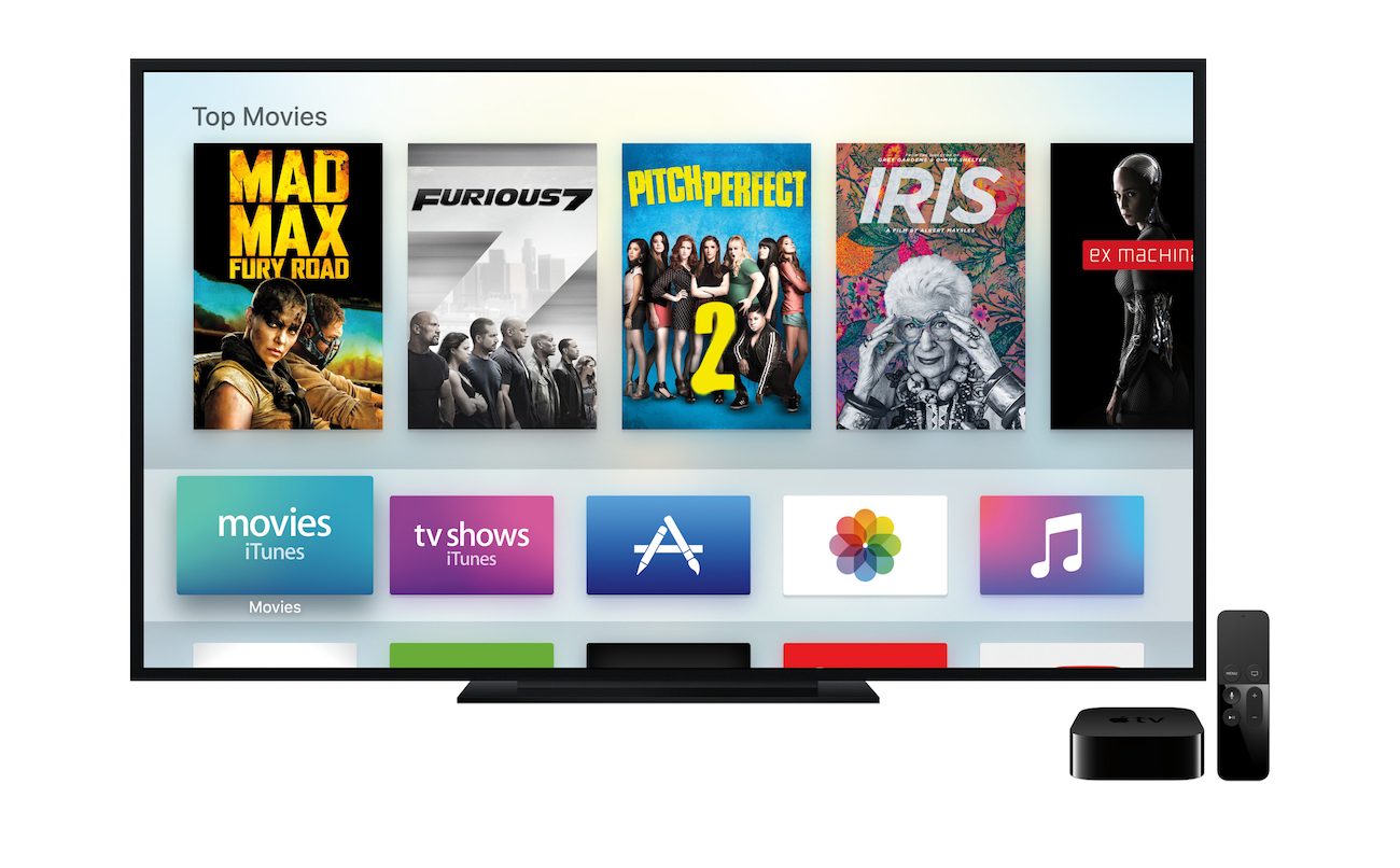 App Store for Apple TV got an update