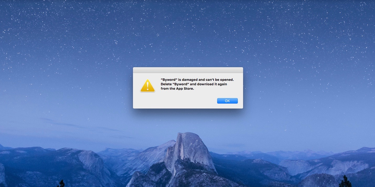 How to solve the problem with corrupted apps on the Mac