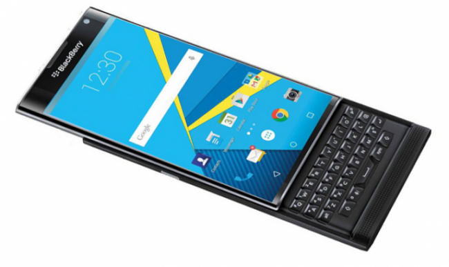 What happens when you cross the iPhone with the new BlackBerry Priv