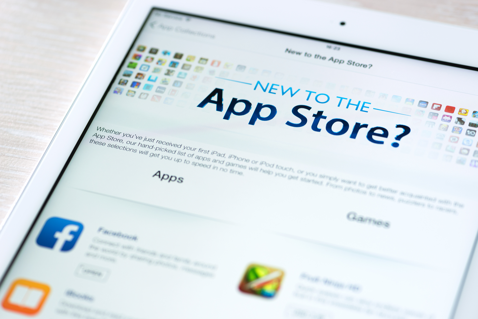 What happened to the App Store and iTunes Store?
