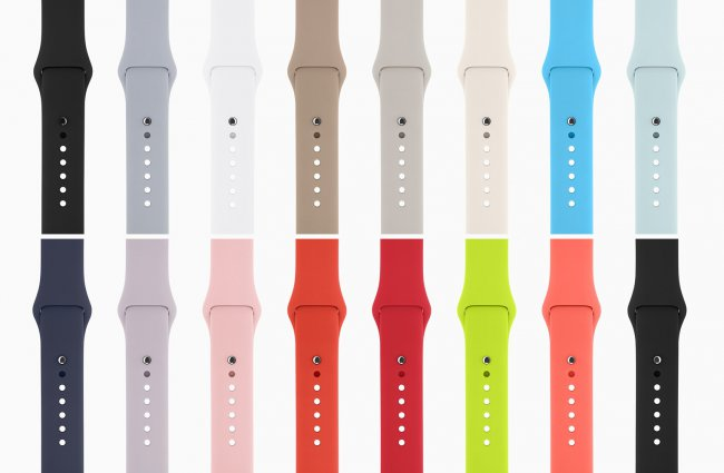Users satisfied with Apple Watch interchangeable straps