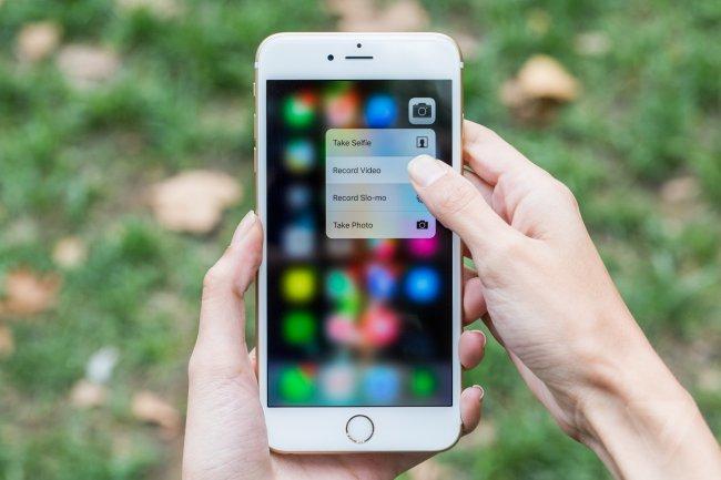 [iOS] Custom 3D Touch sensitivity