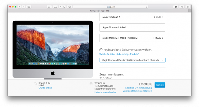 """[GENIUS] the loss of the ringtones on the iPhone, """"bugs"""" OS X El Capitan and buy Mac Russian keyboard layout in Europe"""