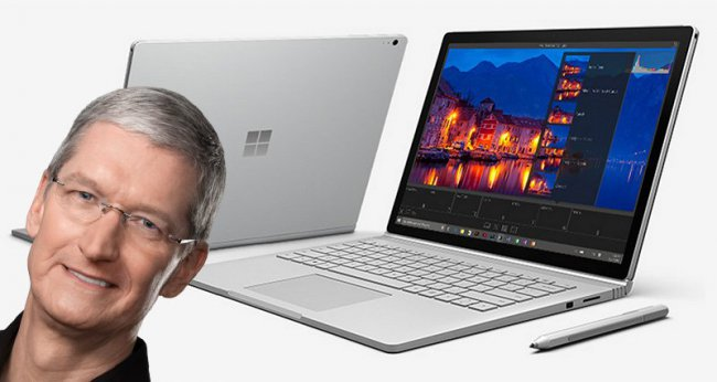 Cook vs. Buka: Apple CEO criticized the new Microsoft Surface