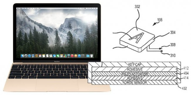 Apple is working to create a keyboard with Force Touch