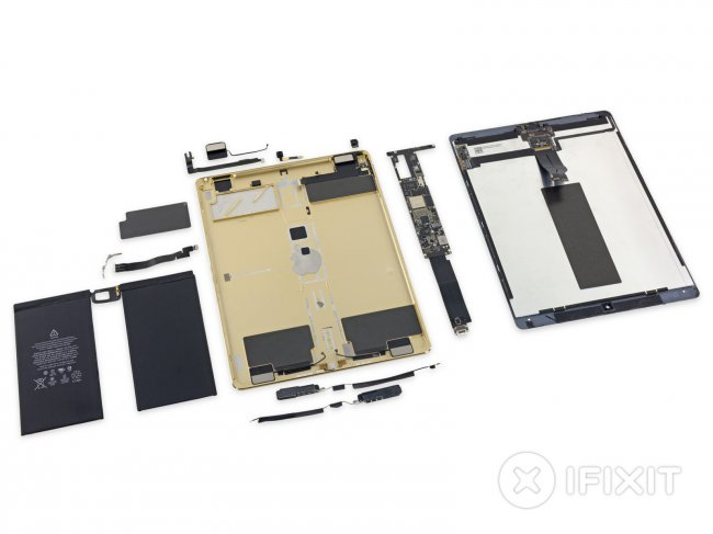 Analysis of the iPad Pro from iFixit in Russian