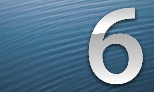 "iOS 6: new tricks and ""features"""