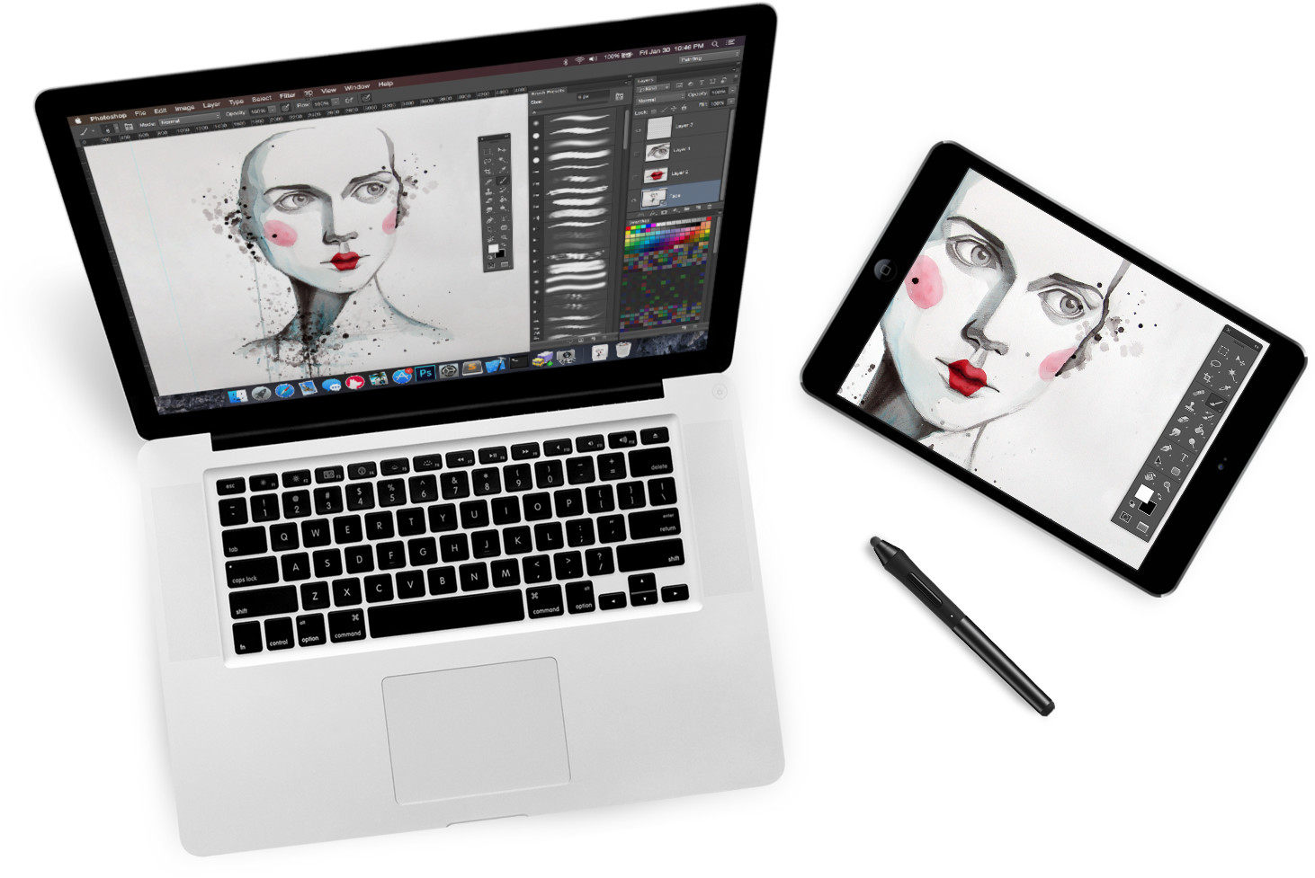 Updated the Astropad app turns iPad Pro into a graphics tablet