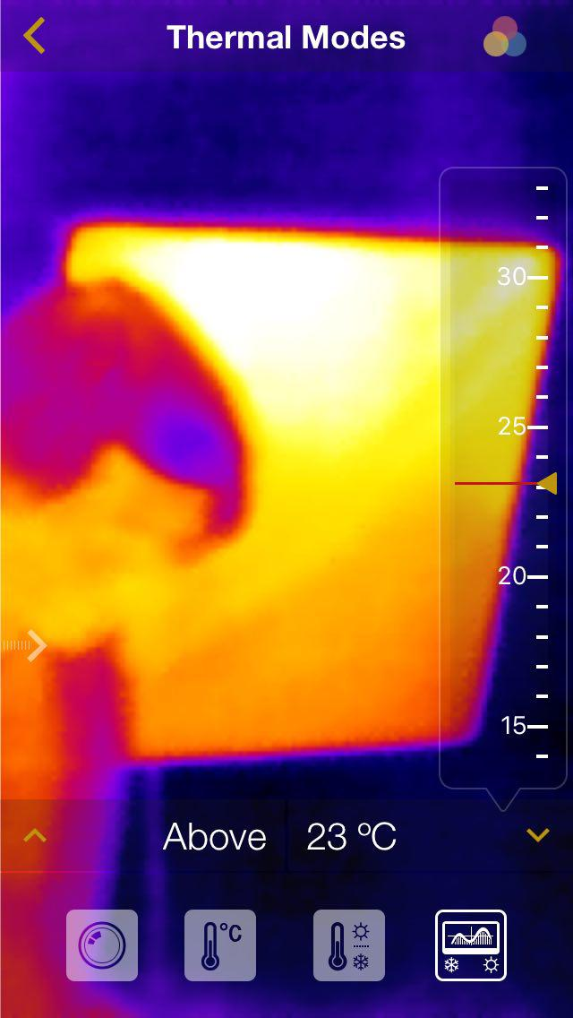 Turn iPhone into a thermal imaging camera along with Seek Thermal