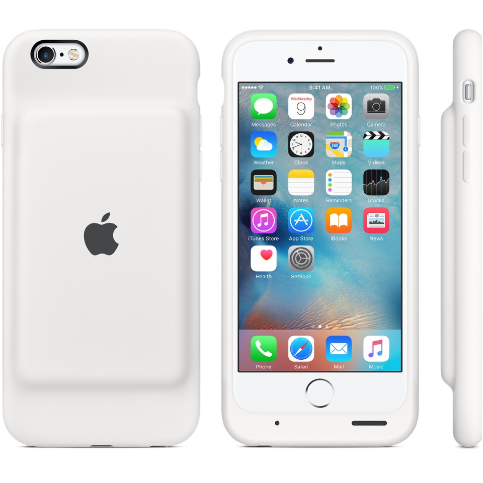 Apple has begun selling an official case batteries for iPhone