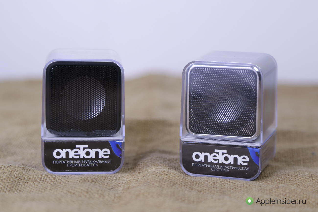 When size doesn't matter: portable speakers oneTone