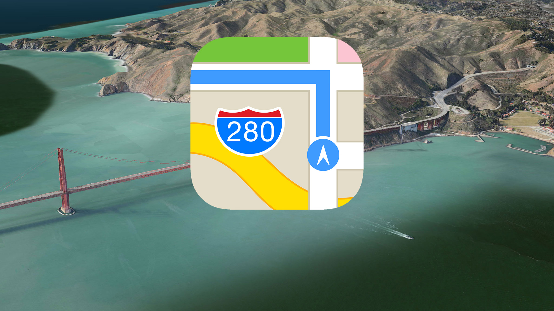 Apple maps can get out?