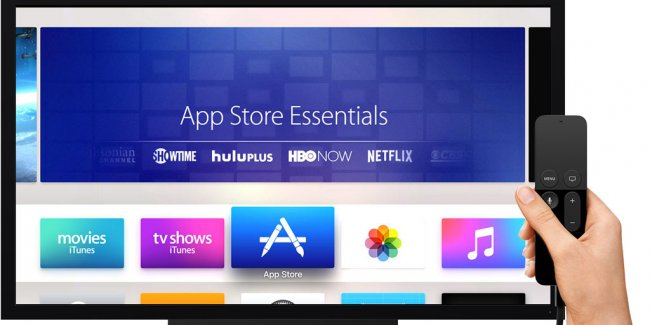 App for Apple TV will be easier to find