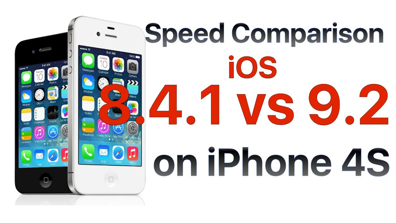 iOS against iOS 8.4 9.2: who is faster?