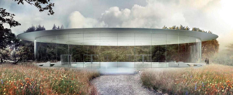New campus Apple excites the imagination