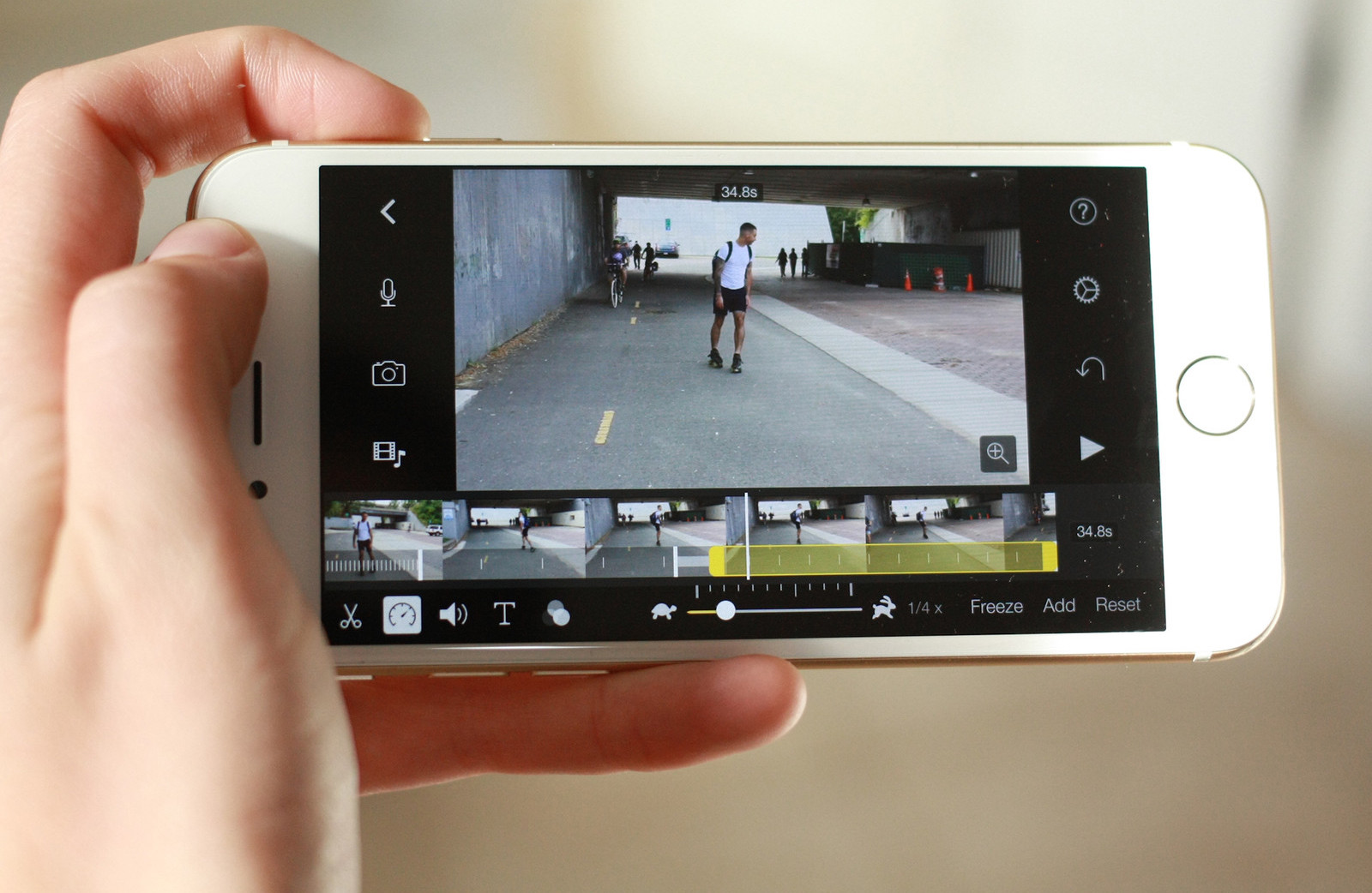 """How to turn """"slow"""" in normal video directly to your iPhone"""
