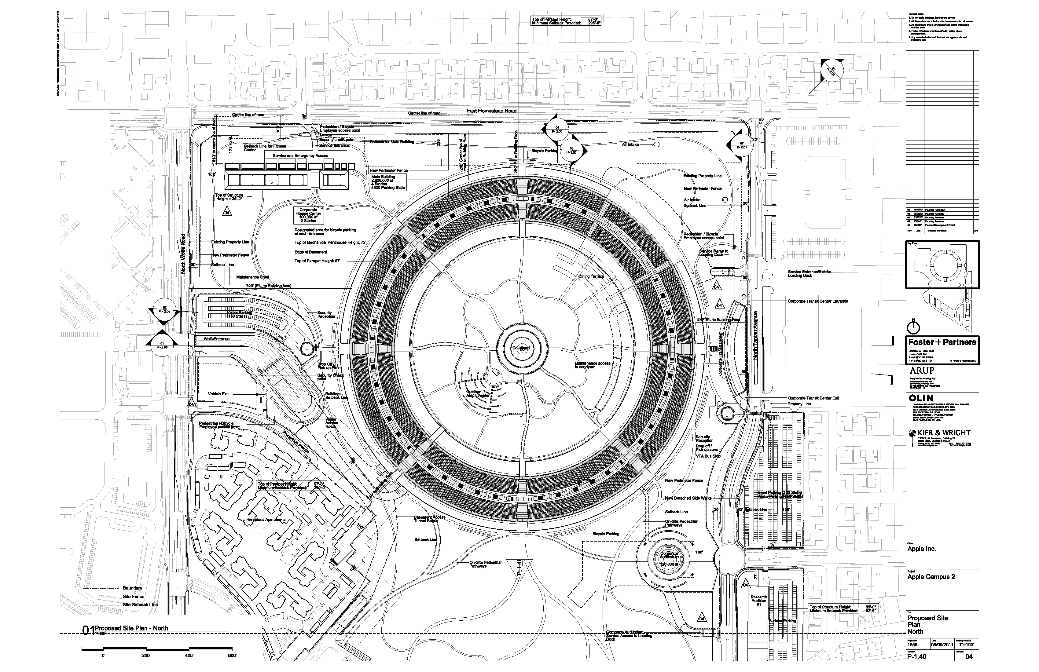 14 interesting facts about the new Apple campus