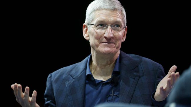 How much is Tim cook?