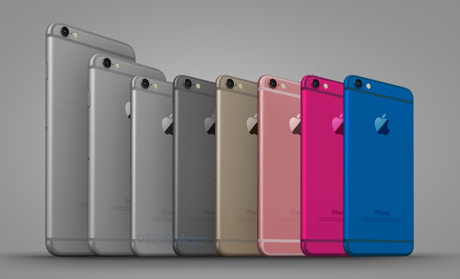 How might look new color 4-inch iPhone