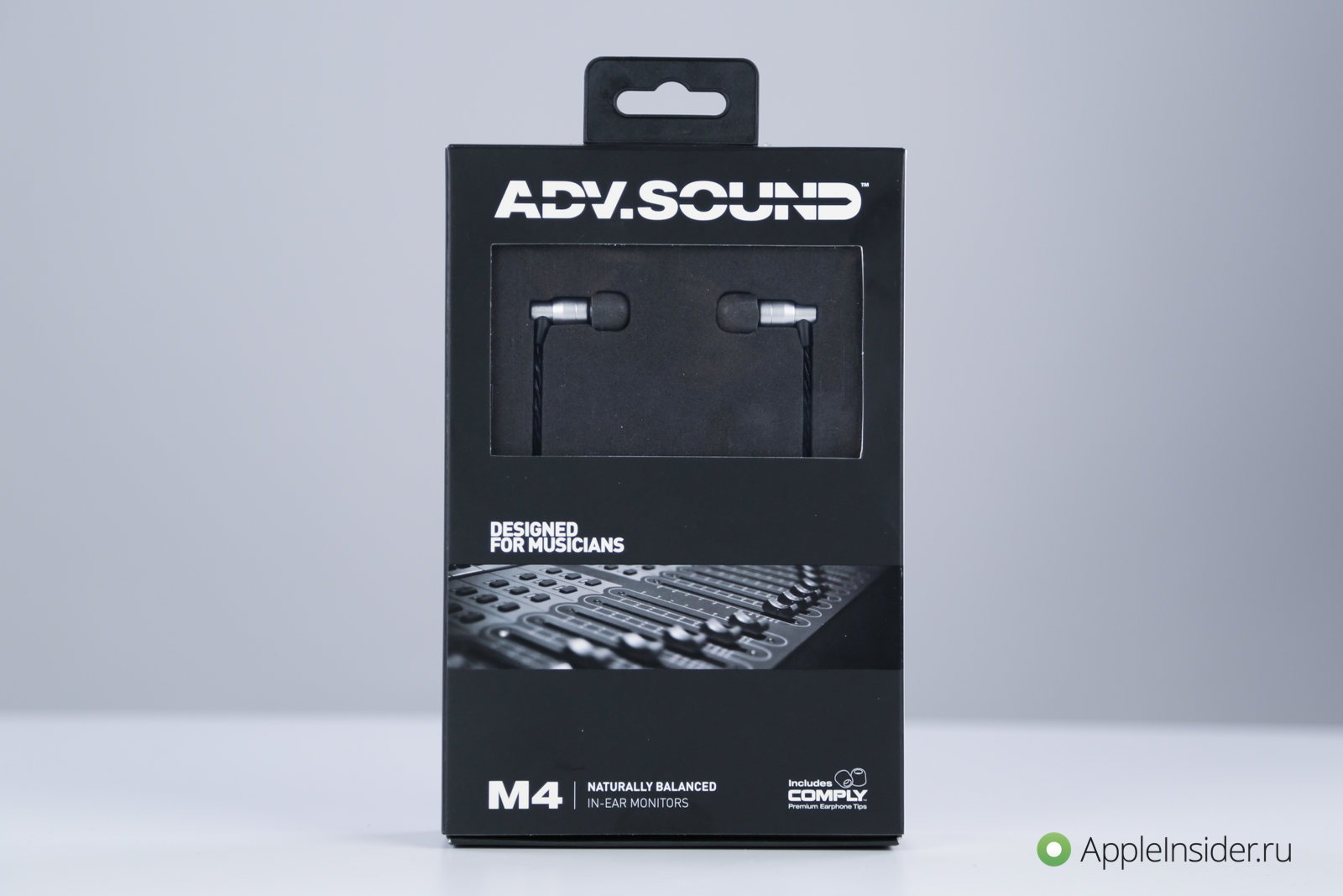 M4 ADV headphones.Sound: not just for musicians