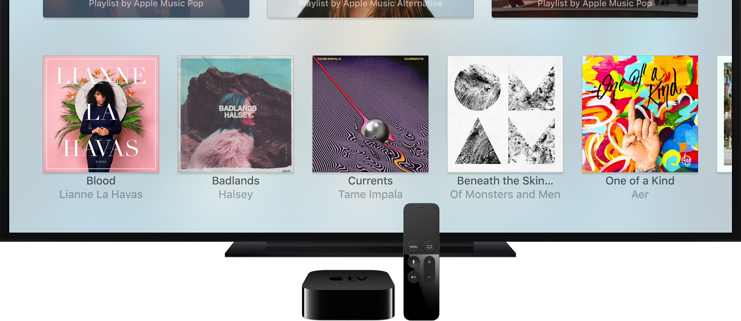 In the App Store for the new Apple TV now supports video in the description