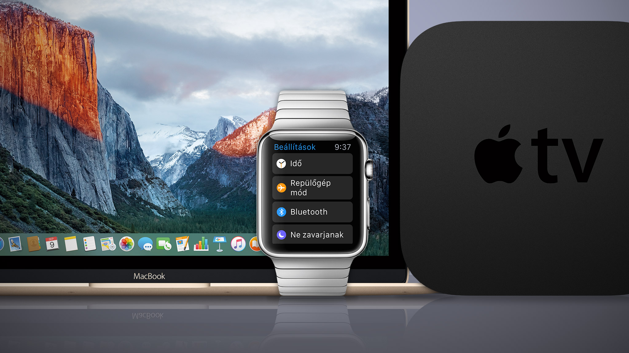 Became available the third beta version of OS X 10.11.4, watchOS 2.2 and 9.2 tvOS