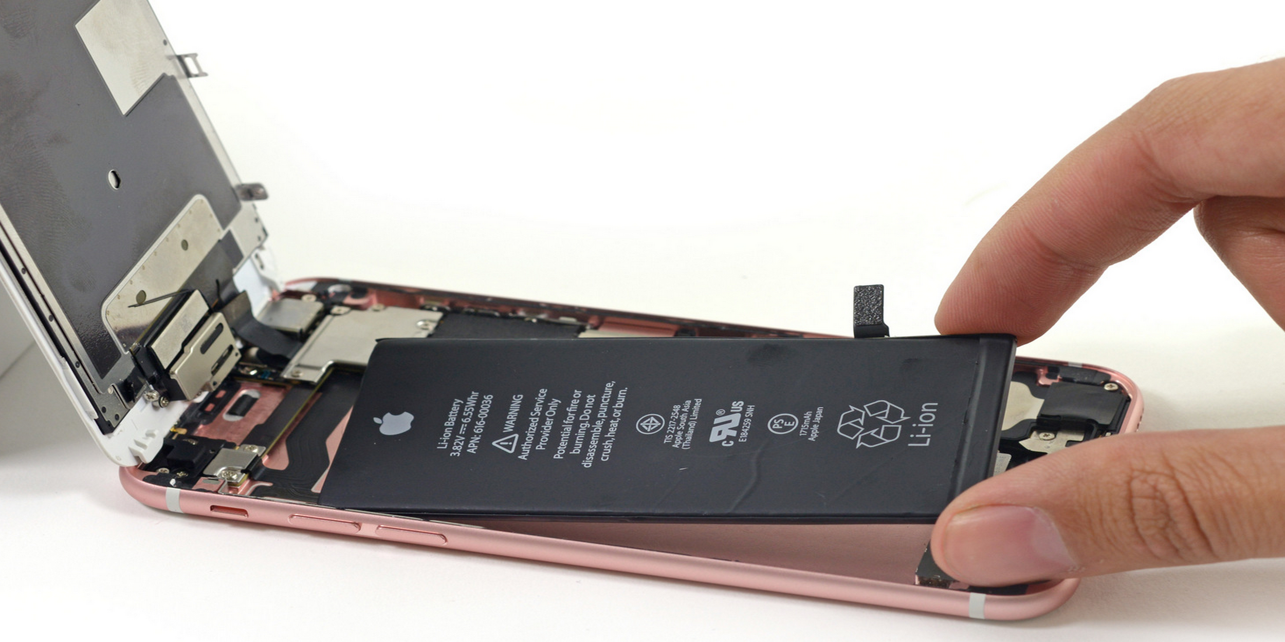 Fat modify your iPhone Battery, increasing work time by 4 times