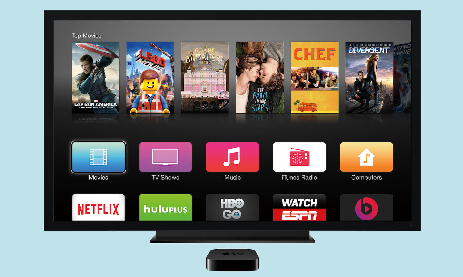 """Apple Rus"" to our apps for Apple TV"