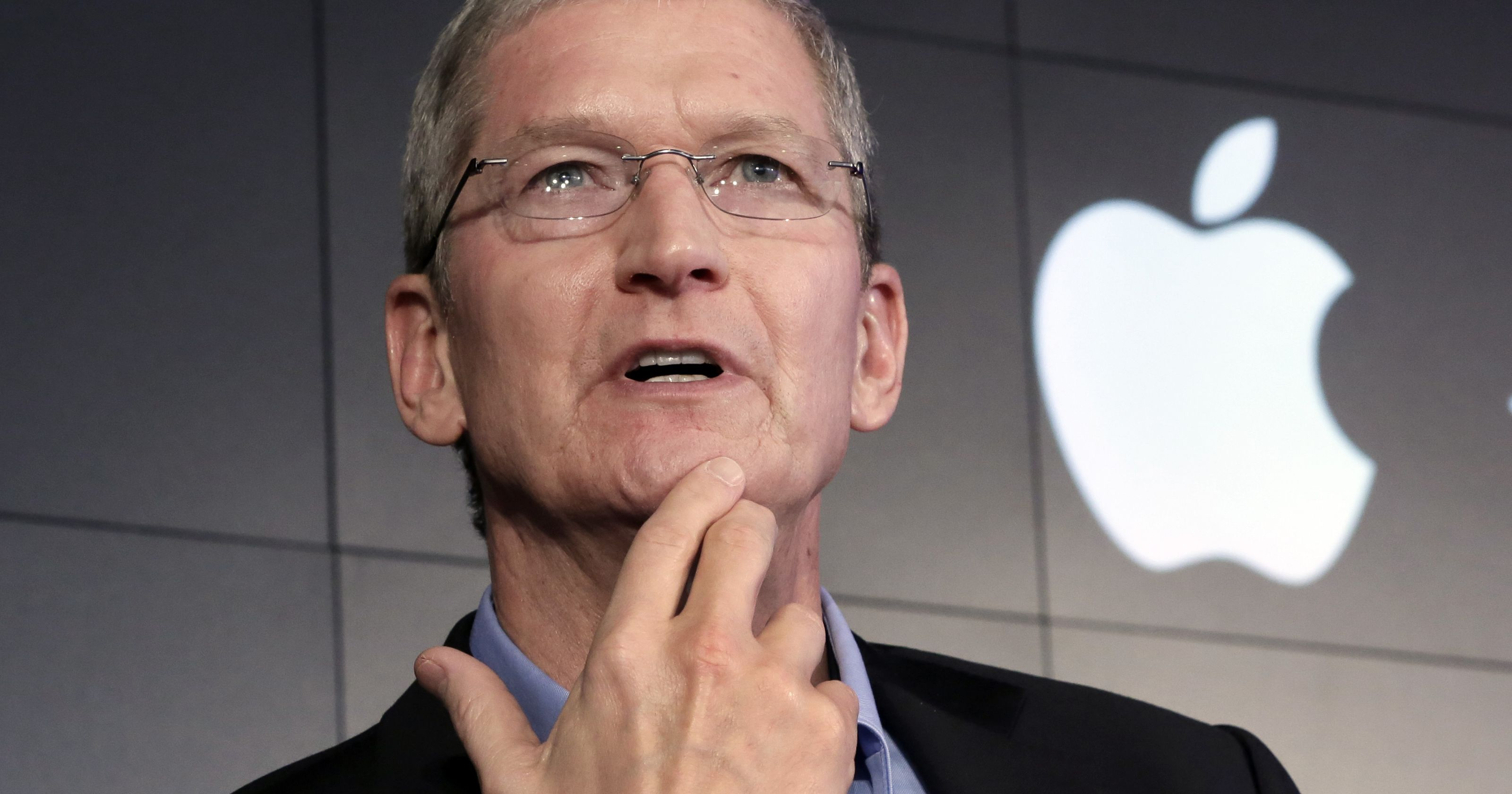 Apple will report its second fiscal quarter on April 25