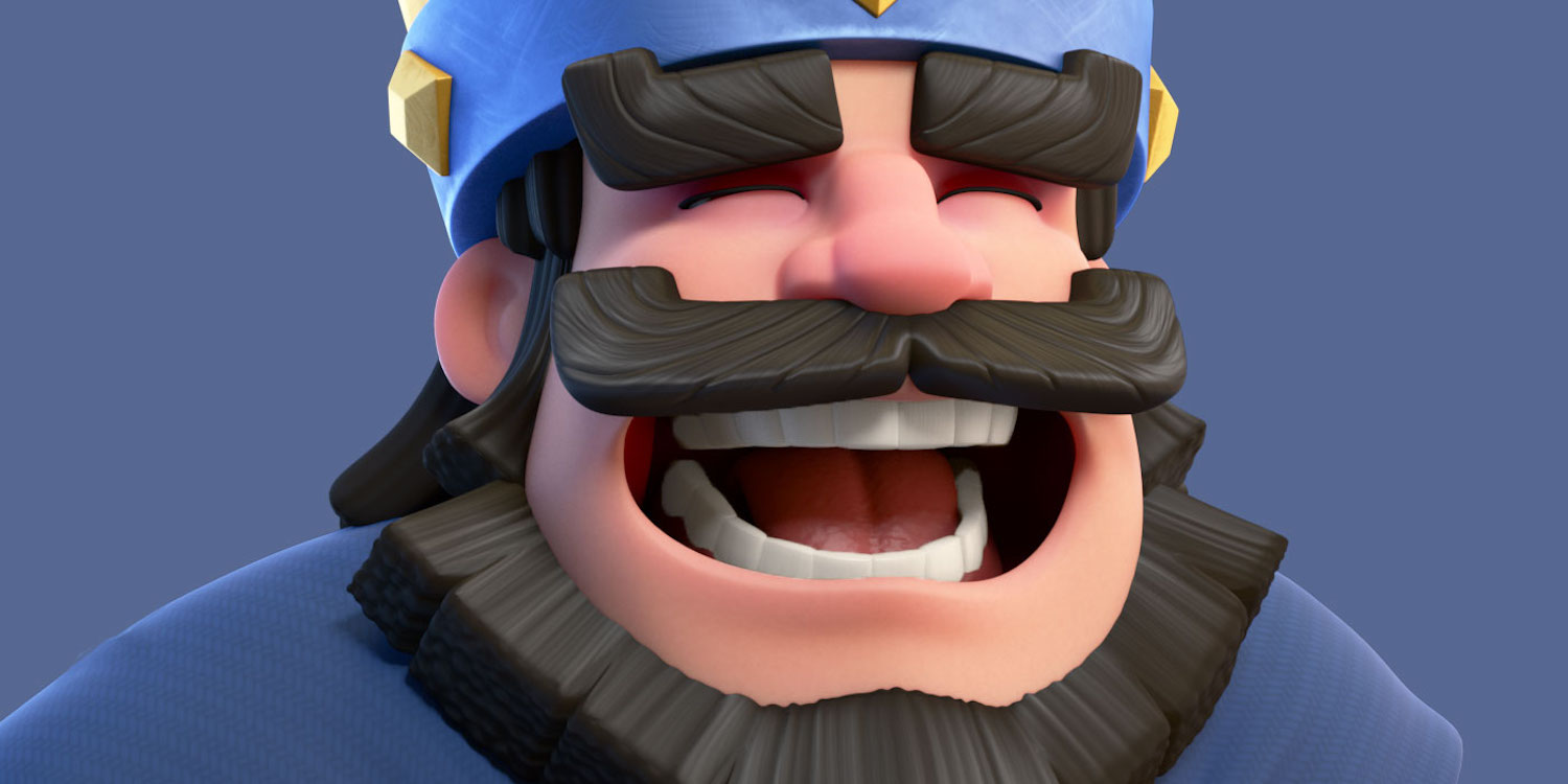 How much do the developers play Clash Royale?