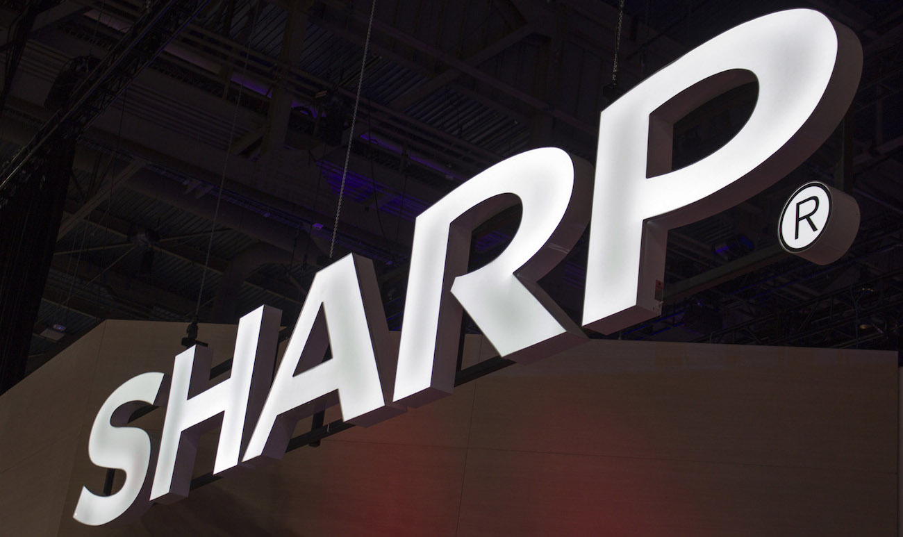 Apple partner Sharp has gained over 3.5 milliage dollars
