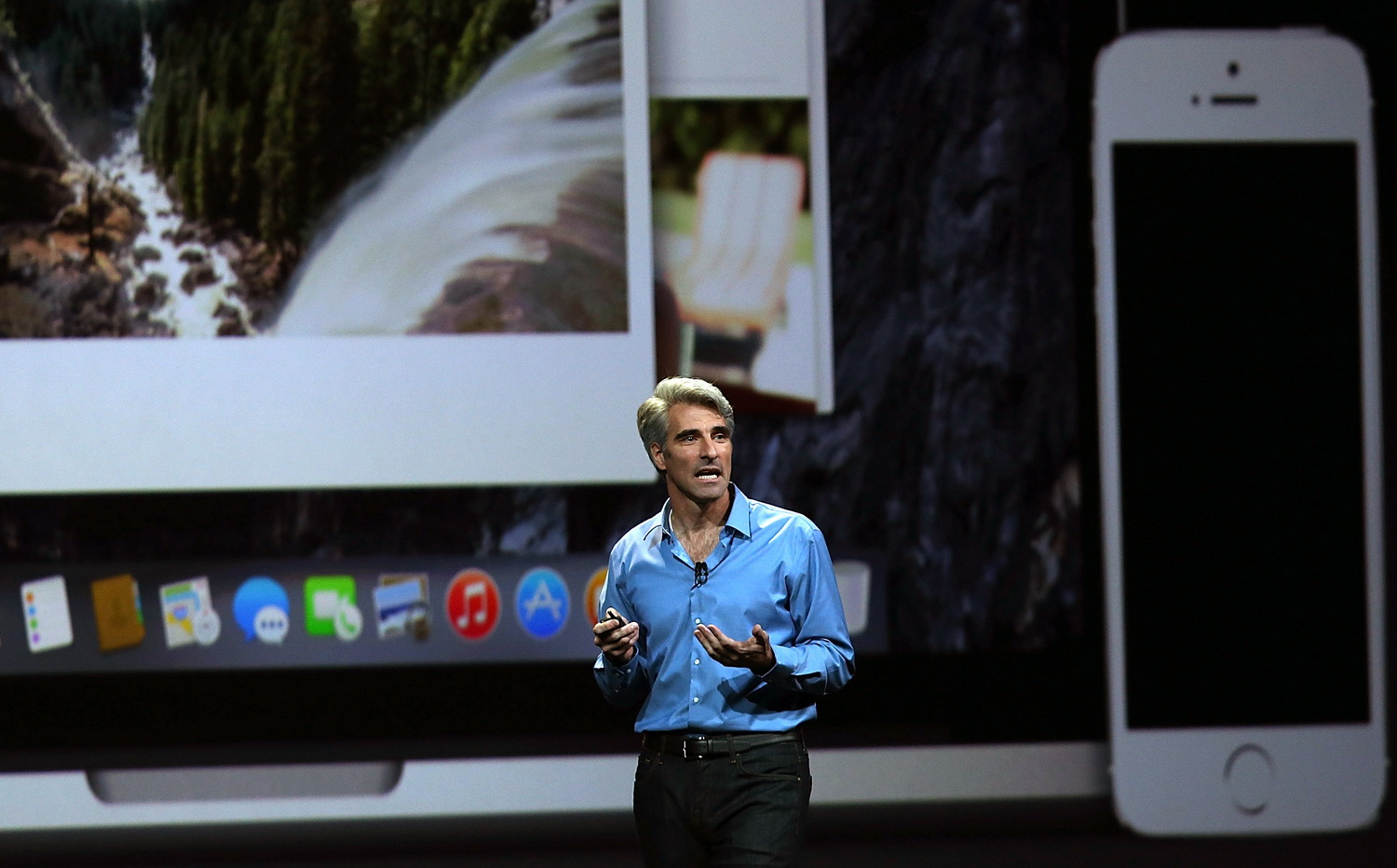Craig Federighi addressed to the FBI from the pages of the newspaper