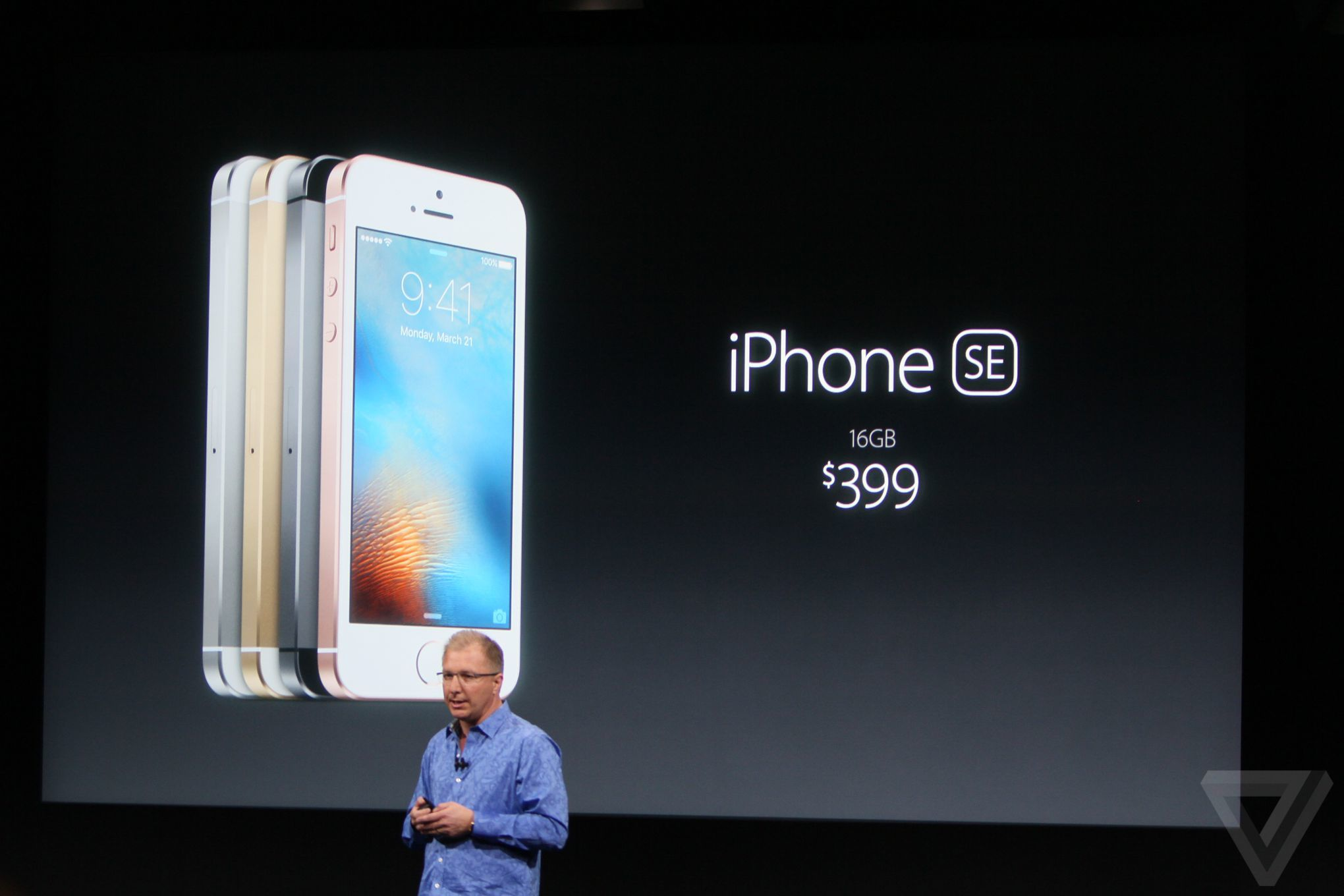 Apple officially introduced the iPhone SE