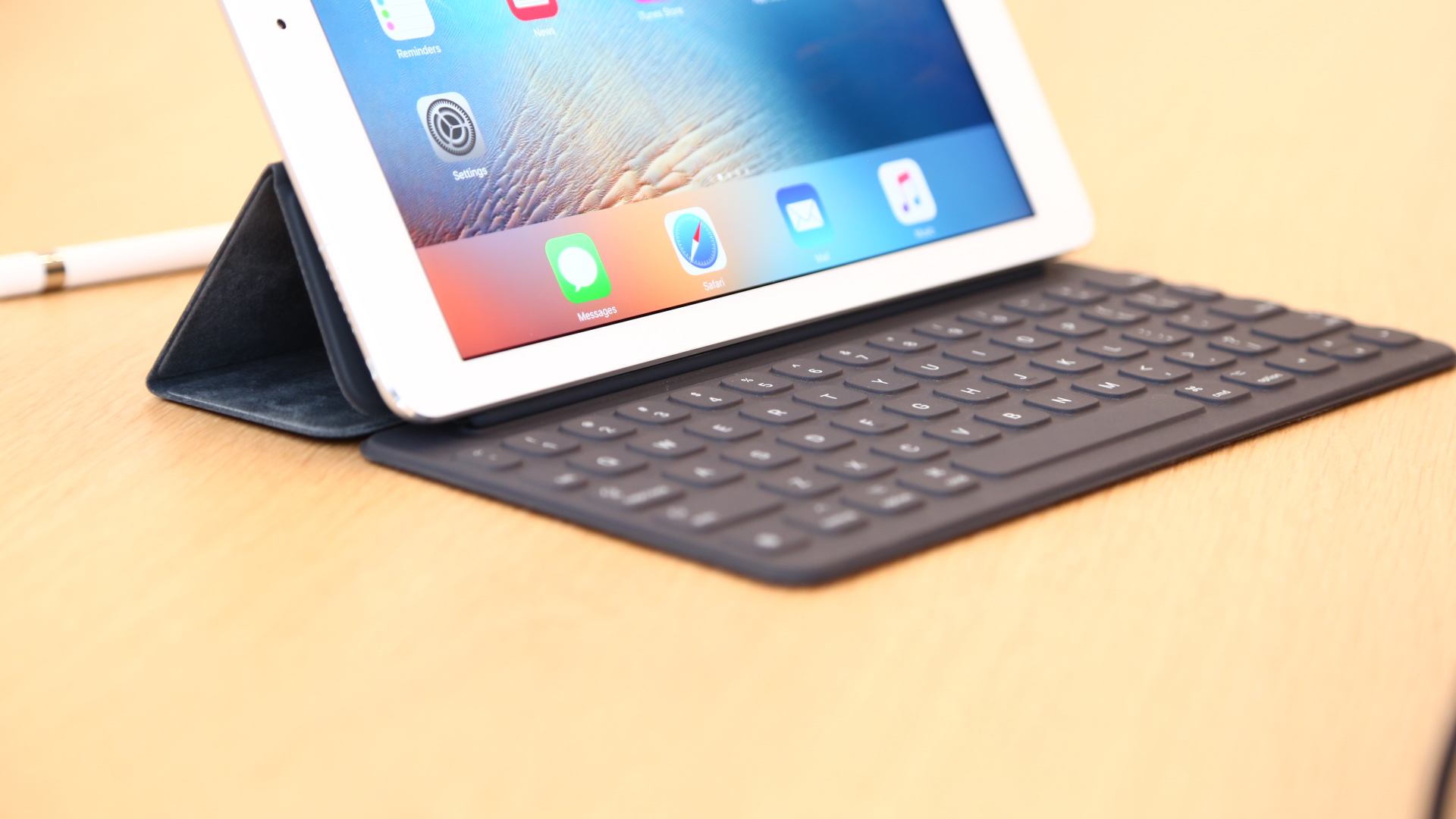 The new iPad Pro were weaker than the 12.9-inch model